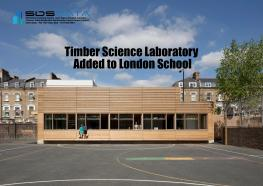 Timber Science Laboratory Added to London School