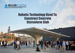 Robotic Technology Used To Construct Concrete Stereoform Slab