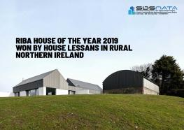 RIBA House of the Year 2019 Won by House Lessans in Rural Northern Ireland