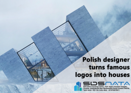 Polish designer turns famous logos into houses
