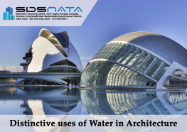 Distinctive uses of Water in Architecture