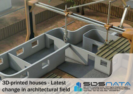 3D-printed houses - Latest change in architectural field