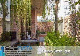 Greenery Curtain House
