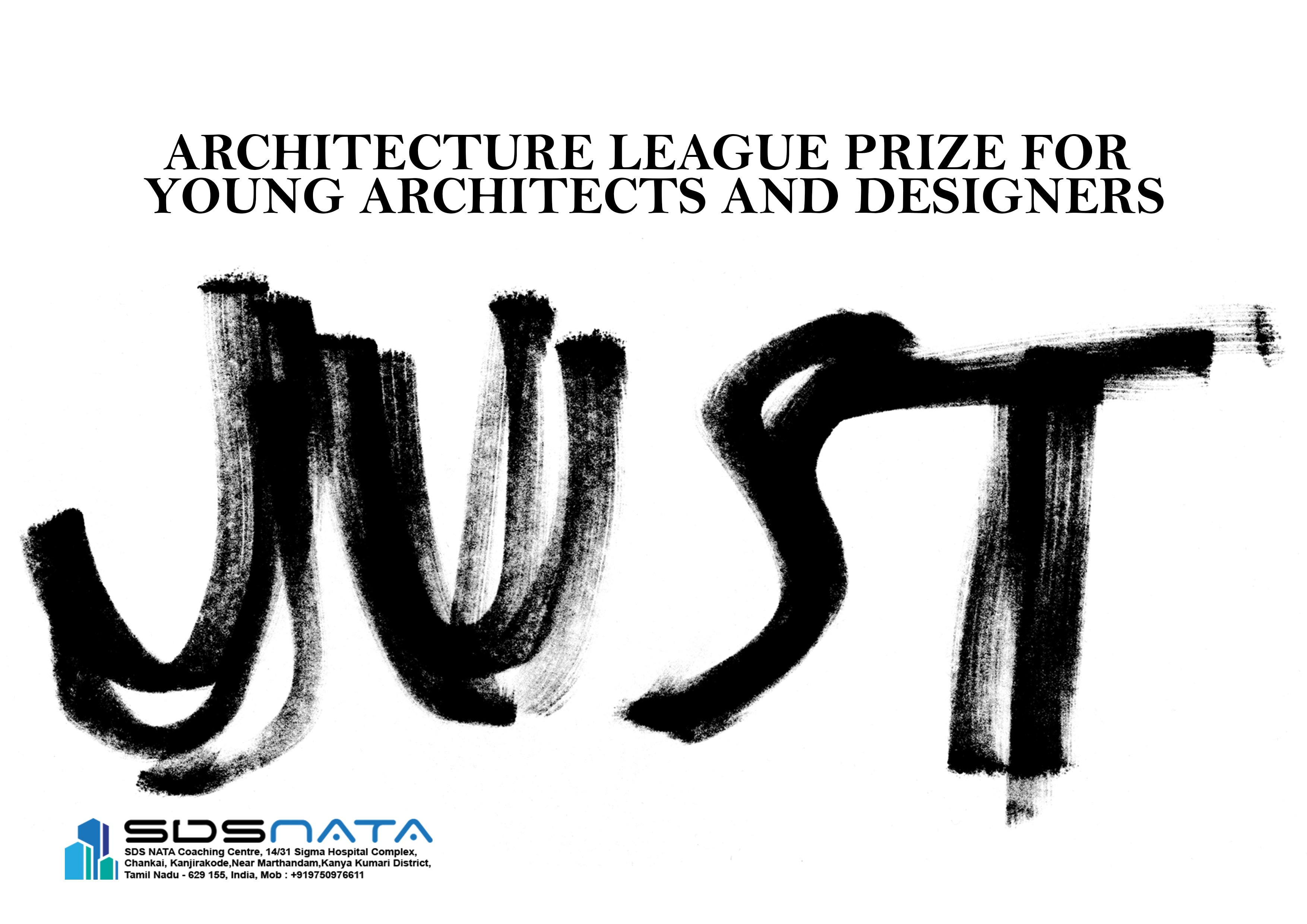 Architecture League Prize for Young Architects and Designers